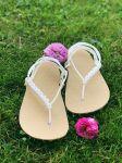 NA MÍRU: základní béžové sandále huarache Nanahu