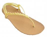 NA MÍRU: základní béžové sandále huarache
