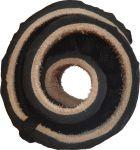 Kožené černé sandále huarache Nanahu