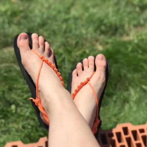 DIY sada barefoot sandale sandale na vyrobu