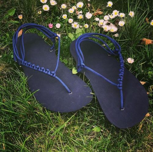 DIY barefoot sandale sada